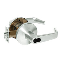 9K37W15LS3618 Best 9K Series Institutional Cylindrical Lever Locks with Contour Angle with Return Lever Design Accept 7 Pin Best Core in Bright Nickel