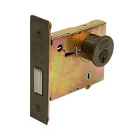DL4112-613 Corbin DL4100 Series Mortise Deadlocks with Double Cylinder in Oil Rubbed Bronze Finish