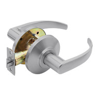 7KC30N14DSTK626 Best 7KC Series Passage Medium Duty Cylindrical Lever Locks with Curved Return Design in Satin Chrome