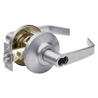 7KC27AB15DSTK626 Best 7KC Series Entrance Medium Duty Cylindrical Lever Locks with Contour Angle Return Design in Satin Chrome