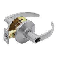 7KC27AB14DSTK626 Best 7KC Series Entrance Medium Duty Cylindrical Lever Locks with Curved Return Design in Satin Chrome