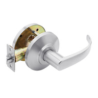 7KC20Y14DS3625 Best 7KC Series Exit Medium Duty Cylindrical Lever Locks with Curved Return Design in Bright Chrome