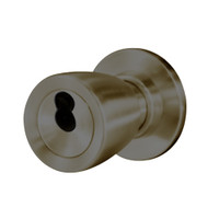 8K37W6CS3613 Best 8K Series Institutional Heavy Duty Cylindrical Knob Locks with Tulip Style in Oil Rubbed Bronze