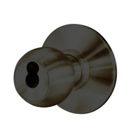 8K37W4DS3613 Best 8K Series Institutional Heavy Duty Cylindrical Knob Locks with Round Style in Oil Rubbed Bronze