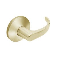 9KW37DEU14LS3606RQE Best 9KW Series Fail Secure Electromechanical Heavy Duty Cylindrical Lock with Curved w/ Return Style in Satin Brass