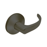 9KW37DEU14LS3613RQE Best 9KW Series Fail Secure Electromechanical Heavy Duty Cylindrical Lock with Curved w/ Return Style in Oil Rubbed Bronze