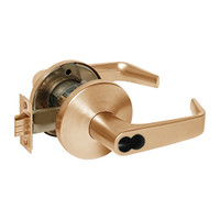 9KW37DEU15LSTK612RQE Best 9KW Series Fail Secure Electromechanical Heavy Duty Cylindrical Lock with Contour w/ Angle Return Style in Satin Bronze