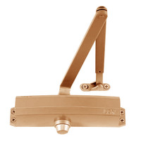 1250-HCUSH-LTBRZ LCN Door Closer with HCUSH Arm in Light Bronze Finish