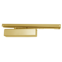 1461T-BUMPER-US3-FC LCN Surface Mount Door Closer with Bumper Arm in Bright Brass Finish