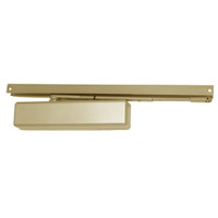 1461T-BUMPER-US4-FC LCN Surface Mount Door Closer with Bumper Arm in Satin Brass Finish