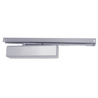 1461T-H-BUMPER-US26D-FC LCN Surface Mount Door Closer with Hold Open Track with Bumper in Satin Chrome Finish