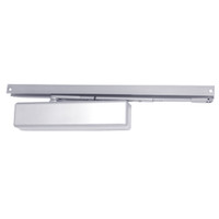 1461T-H-BUMPER-US26-FC LCN Surface Mount Door Closer with Hold Open Track with Bumper in Bright Chrome Finish