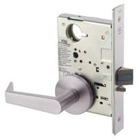 AUR8828FL-630 Yale 8800FL Series Non-Keyed Mortise Exit Locks with Augusta Lever in Satin Stainless Steel