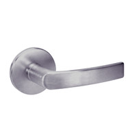 MOR8860FL-630 Yale 8800FL Series Single Cylinder with Deadbolt Mortise Entrance or Storeroom Lock with Indicator with Monroe Lever in Satin Stainless Steel