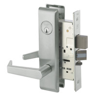 AUCN8812-2FL-619 Yale 8800FL Series Double Cylinder Mortise Classroom Security Deadbolt Locks with Augusta Lever in Satin Nickel