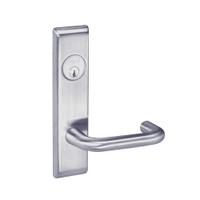 CRCN8805FL-626 Yale 8800FL Series Single Cylinder Mortise Storeroom/Closet Locks with Carmel Lever in Satin Chrome