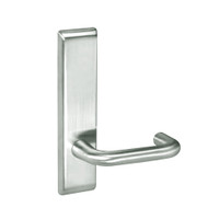 CRCN8802FL-618 Yale 8800FL Series Non-Keyed Mortise Privacy Locks with Carmel Lever in Bright Nickel