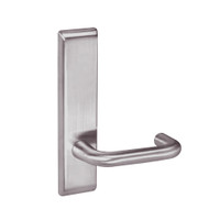 CRCN8828FL-630 Yale 8800FL Series Non-Keyed Mortise Exit Locks with Carmel Lever in Satin Stainless Steel
