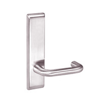 CRCN8862FL-629 Yale 8800FL Series Non-Keyed Mortise Bathroom Locks with Carmel Lever in Bright Stainless Steel