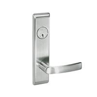 MOCN8807FL-619 Yale 8800FL Series Single Cylinder Mortise Entrance Locks with Monroe Lever in Satin Nickel