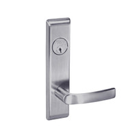 MOCN8809FL-626 Yale 8800FL Series Single Cylinder Mortise Classroom w/ Thumbturn Locks with Monroe Lever in Satin Chrome