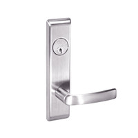 MOCN8809FL-629 Yale 8800FL Series Single Cylinder Mortise Classroom w/ Thumbturn Locks with Monroe Lever in Bright Stainless Steel
