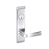 MOCN8829FL-625 Yale 8800FL Series Single Cylinder Mortise Closet Locks with Monroe Lever in Bright Chrome