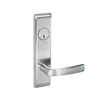 MOCN8860FL-619 Yale 8800FL Series Single Cylinder with Deadbolt Mortise Entrance or Storeroom Lock with Indicator with Monroe Lever in Satin Nickel