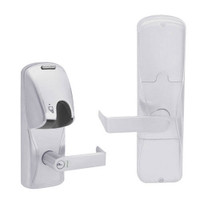 AD200-CY-70-MG-RHO-RD-626 Schlage Classroom/Storeroom Magnetic Stripe(Insert) Lock with Rhodes Lever in Satin Chrome