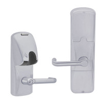 AD200-CY-70-MG-TLR-RD-626 Schlage Classroom/Storeroom Magnetic Stripe(Insert) Lock with Tubular Lever in Satin Chrome