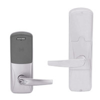 AD200-CY-70-MT-ATH-RD-626 Schlage Classroom/Storeroom Multi-Technology Lock with Athens Lever in Satin Chrome