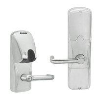AD200-CY-50-MG-TLR-RD-619 Schlage Office Magnetic Stripe(Insert) Lock with Tubular Lever in Satin Nickel