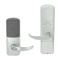 AD200-CY-50-MT-SPA-RD-619 Schlage Office Multi-Technology Lock with Sparta Lever in Satin Nickel