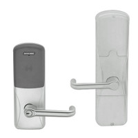 AD200-CY-50-MT-TLR-RD-619 Schlage Office Multi-Technology Lock with Tubular Lever in Satin Nickel