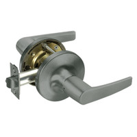 MO5430LN-620 Yale 5400LN Series Double Cylinder Utility or Institutional Cylindrical Lock with Monroe Lever in Antique Nickel