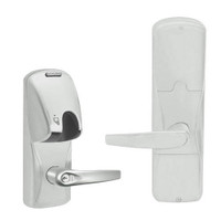 AD200-CY-70-MG-ATH-GD-29R-619 Schlage Classroom/Storeroom Magnetic Stripe(Insert) Lock with Athens Lever in Satin Nickel