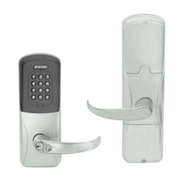 AD200-CY-70-MTK-SPA-GD-29R-619 Schlage Classroom/Storeroom Multi-Technology Keypad Lock with Sparta Lever in Satin Nickel