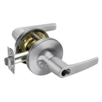 B-MO5422LN-626 Yale 5400LN Series Single Cylinder Corridor Cylindrical Locks with Monroe Lever Prepped for SFIC in Satin Chrome
