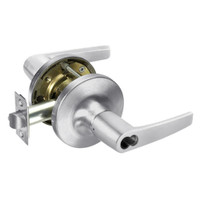B-MO5417LN-625 Yale 5400LN Series Double Cylinder Apartment or Exit Cylindrical Locks with Monroe Lever Prepped for SFIC in Bright Chrome