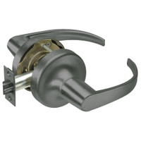 PB5403LN-620 Yale 5400LN Series Non-Keyed Patio or Privacy Cylindrical Locks with Pacific Beach Lever in Antique Nickel