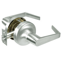 AU5303LN-619 Yale 5300LN Series Non-Keyed Patio or Privacy Cylindrical Locks with Augusta Lever in Satin Nickel
