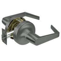 AU5303LN-620 Yale 5300LN Series Non-Keyed Patio or Privacy Cylindrical Locks with Augusta Lever in Antique Nickel