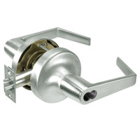 AU5325LN-619 Yale 5300LN Series Non-Keyed Privacy Cylindrical Locks with Augusta Lever in Satin Nickel