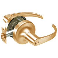 PB5330LN-612 Yale 5300LN Series Double Cylinder Utility or Institutional Cylindrical Lock with Pacific Beach Lever in Satin Bronze