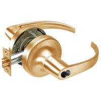 SI-PB5322LN-612 Yale 5300LN Series Single Cylinder Corridor Cylindrical Lock with Pacific Beach Lever Prepped for Schlage IC Core in Satin Bronze
