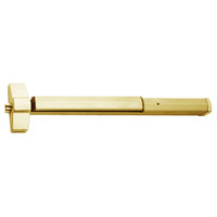7150-24-606 Yale 7000 Series Non Fire Rated SquareBolt Exit Device in Satin Brass