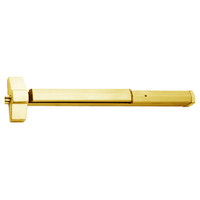 7150P-24-605 Yale 7000 Series Non Fire Rated SquareBolt Exit Device with Electric Latch Pullback in Bright Brass