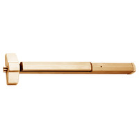 7150P-24-612 Yale 7000 Series Non Fire Rated SquareBolt Exit Device with Electric Latch Pullback in Satin Bronze