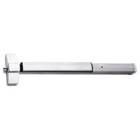7150P-24-629 Yale 7000 Series Non Fire Rated SquareBolt Exit Device with Electric Latch Pullback in Bright Stainless Steel