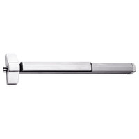 7150FP-24-629 Yale 7000 Series Fire Rated SquareBolt Exit Device with Electric Latch Pullback in Bright Stainless Steel